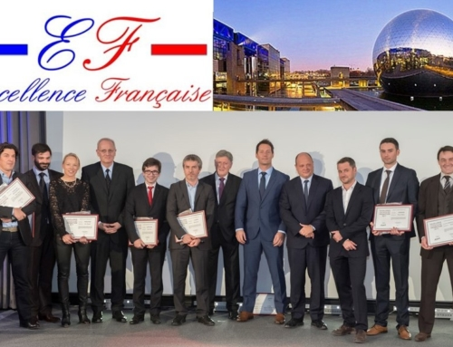 NAWA Technologies honoured in the field of spacial innovation at the 2017 french excellence awards