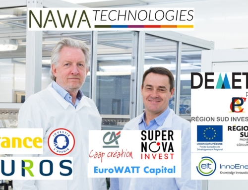NAWA TECHNOLOGIES COMPLETES €13,3M SERIES FUNDING